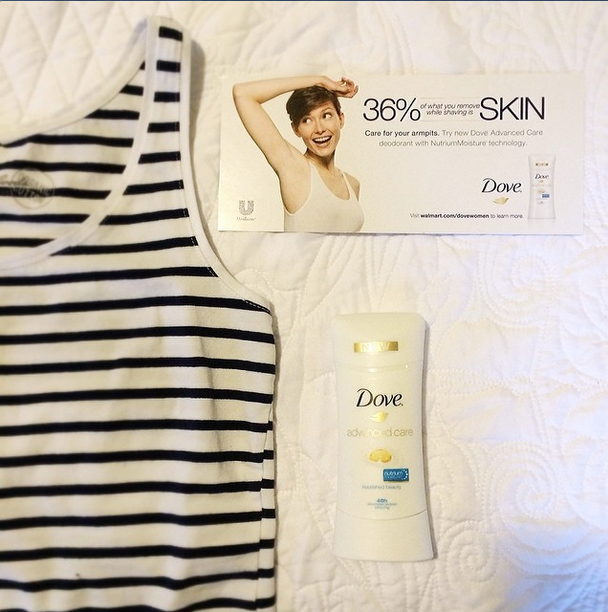 Dove #RaiseYourArms VoxBox from Influenster